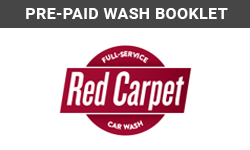 Product: Pre-Paid Wash Booklet
