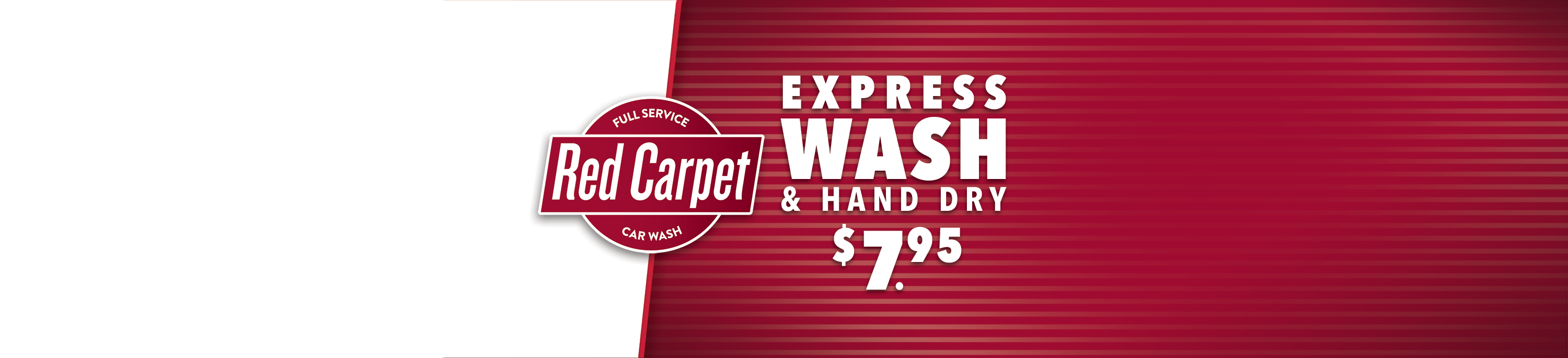 Express Wash & Hand Dry