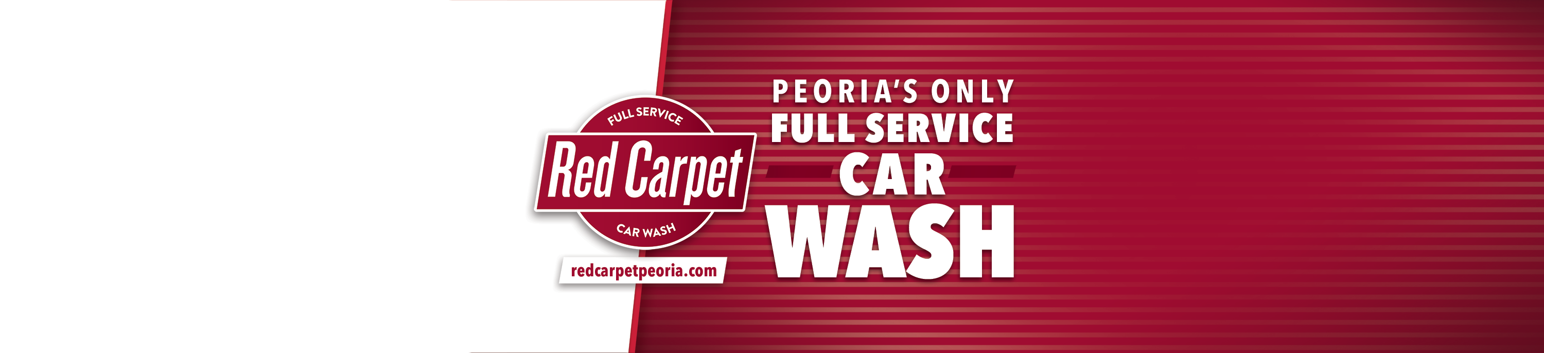 Peoria's Only Full Service Car Wash